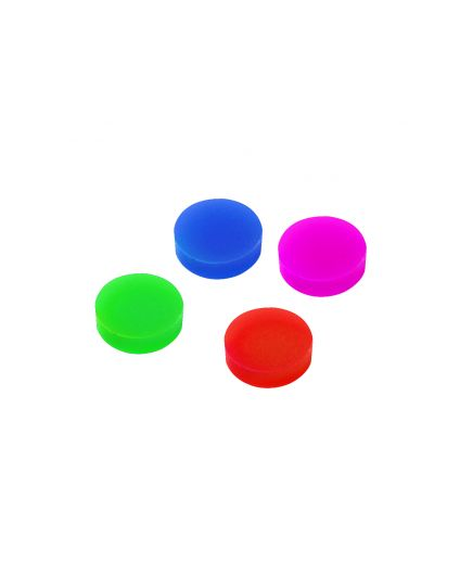 Spare Buttons 4 pk  (Red, Pink, Green, Blue)