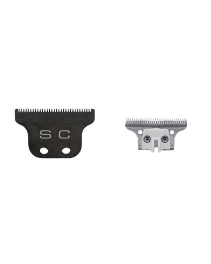 Trimmer Blade with DLC Fixed Blade and Steel Deep Tooth Cutter