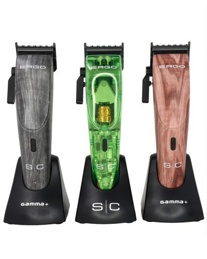 S|C Ergo Lids - Transparent Green, Grey Wood, Red Wood
